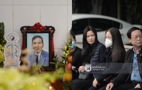 Cập nhật tang lễ cố NSND Trần Hạnh: Công Lý và dàn nghệ sĩ Việt đã có mặt, linh cữu đặt cạnh di ảnh gây xót xa
