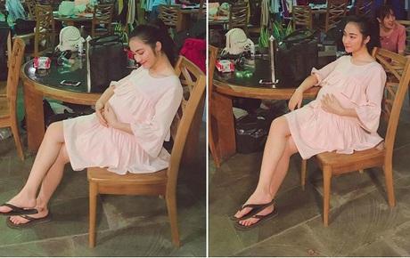 """Hoà Minzy nói rõ thực hư ảnh bụng bầu vượt mặt trong quá khứ, tiết lộ cách """"hack dáng"""" lúc mang thai con đầu lòng"""