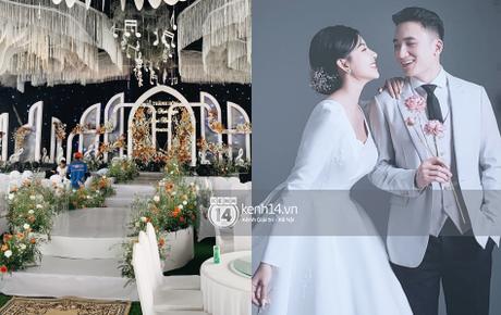 Hé lộ toàn cảnh lễ đường và ảnh cưới của Phan Mạnh Quỳnh tại Nghệ An: Sân khấu đẹp như cổ tích, quy mô nhìn sơ đã thấy khủng!