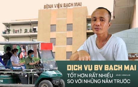 """Bệnh nhân đến BV Bạch Mai 1 năm trở lại đây: """"Bệnh nhân nghèo như tôi cũng được quan tâm đúng nghĩa"""""""