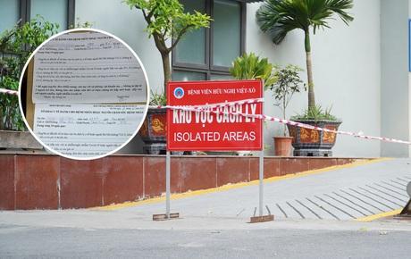 Bệnh viện Hữu Nghị cung cấp giấy khai báo của vợ chồng Giám đốc Hacinco: Có khai báo nhưng không trung thực