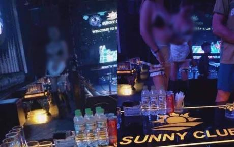 Loạt clip nhạy cảm được cho là bên trong quán bar Sunny, ổ dịch Covid-19 Vĩnh Phúc vừa bị tước giấy phép kinh doanh