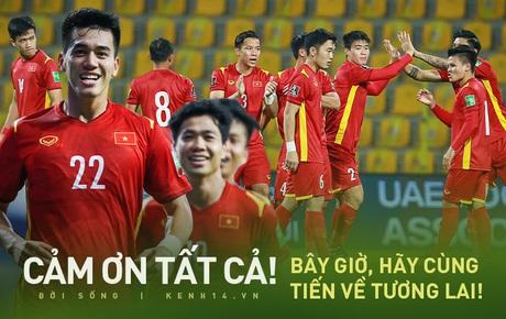 Thua một trận, thắng cả chiến dịch: Và lịch sử bóng đá Việt Nam vẫn đang được viết tiếp!