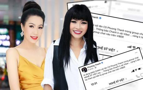 """Nóng: Phương Thanh, Trịnh Kim Chi lên tiếng về nhóm chat """"Nghệ sĩ Việt"""" chuyên nói xấu đang gây xôn xao MXH"""