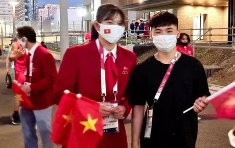 Trực tiếp lễ khai mạc Olympic 2020: Ánh Viên, Tiến Minh tham gia diễu hành