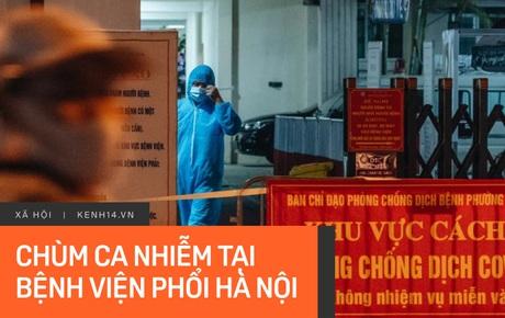 INFOGRAPHIC: 27 ca nhiễm liên quan Bệnh viện Phổi Hà Nội, phong toả toàn bộ bệnh viện