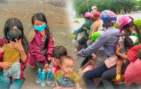 Hành trình 1400 km chạy xe máy từ miền Nam về quê của những người lao động nghèo tha hương