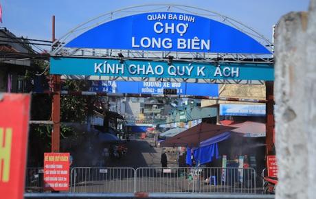 KHẨN: Hà Nội tìm người từng đến chợ Long Biên từ ngày 18/7 đến 3/8