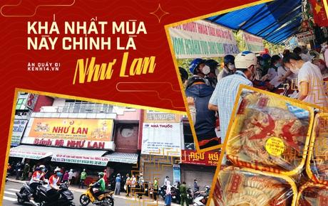 """Xếp hàng mua bánh Trung thu Như Lan hot nhất Sài Gòn: Khách sộp mua  11 triệu tiền bánh, shipper đợi đến """"phát quạu"""""""