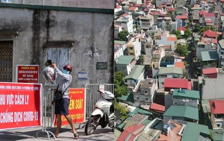 Hà Nội: Phong tỏa khu dân cư ở quận Long Biên nơi 6 người trong gia đình dương tính SARS-CoV-2