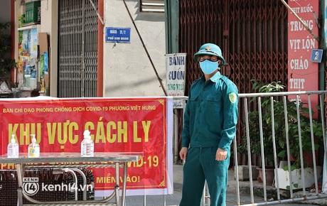 Hà Nội phong tỏa 2 khu dân cư liên quan chùm 7 F0 chưa rõ nguồn lây ở quận Long Biên