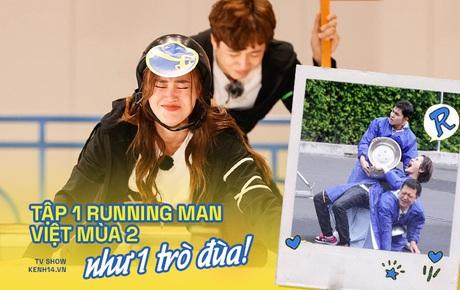 """Diễn """"giả trân"""", thử thách nhạt nhẽo, Running Man Việt mùa 2 mở màn như một trò đùa!"""
