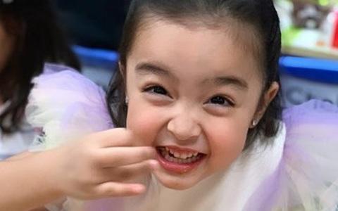 Con gái mỹ nhân đẹp nhất Philippines Marian Rivera ngộ nghĩnh đáng yêu trong tiệc sinh nhật sớm