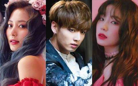 Những idol thay concept như thay áo: TWICE đã hết một màu, BTS và dàn sao nhà SM chứng tỏ đẳng cấp ông hoàng bà chúa concept