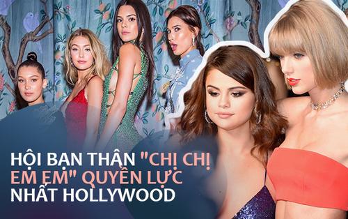 """3 hội """"chị chị em em"""" quyền lực Hollywood: Toàn siêu mẫu, minh tinh giàu nhất thế giới, quý tộc, nhưng ai khủng nhất?"""