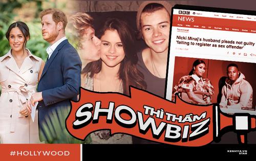 Thì Thầm Hollywood: Selena, Tom Cruise đang hẹn hò, vợ chồng Hoàng tử Harry bắt tay với Kim và tin động trời về chồng Nicki Minaj