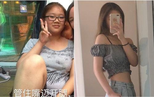 Shock vì bị mối tình đầu chia tay chỉ 2 ngày trước lễ tình nhân, cô gái bỗng giảm hơn 20kg hóa nữ thần