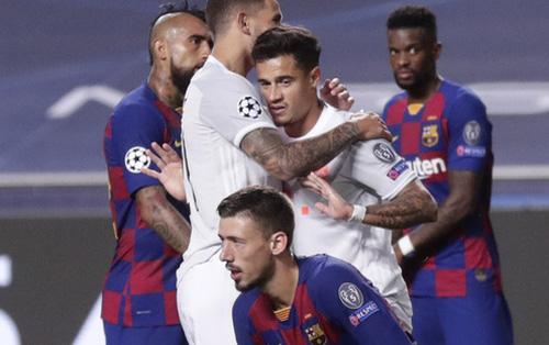 Những con số đáng buồn hằn sâu vào lịch sử Barca sau thảm bại 2-8