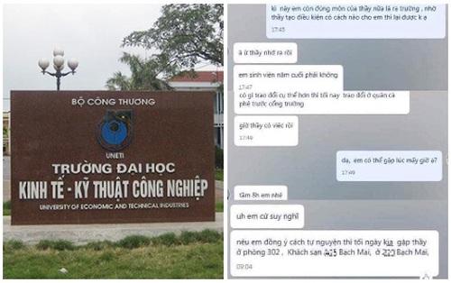 """NÓNG: Xôn xao thông tin thầy giáo Hà Nội hứa cho nữ sinh qua môn nếu """"vào khách sạn"""", đại diện trường chính thức phản hồi"""