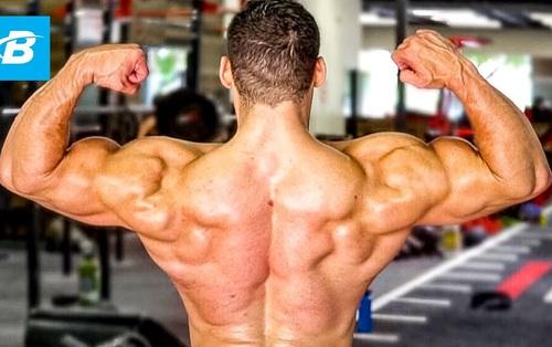 Tập luyện cùng VĐV (phần 2): Nam giới muốn có bộ lưng hấp dẫn nên tập 6 bài này