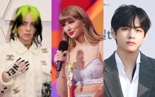 BTS trắng tay, fan tranh cãi cực gắt khi Taylor Swift thua hạng mục quan trọng trước Billie Eilish tại BRIT Awards 2021