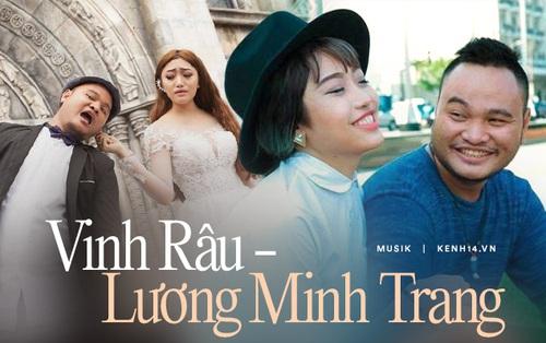 """Vinh Râu - Lương Minh Trang: Chồng dính phốt vì """"vạ miệng"""", vợ mờ nhạt trong ca hát, ly hôn lại """"tố"""" nhau dậy sóng MXH"""