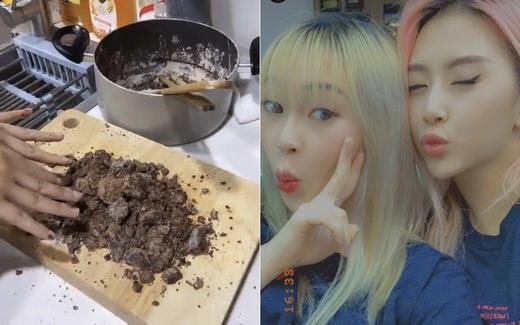 """""""Mười phân vẹn mười"""" như chị em Quỳnh Anh Shyn, Sun HT mà cũng có lúc """"toang"""": siêu phẩm trân châu đường đen biến thành hỗn hợp bầy nhầy"""