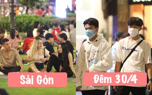 """Sài Gòn đêm 30⁄4: Những người ở lại """"hớn hở"""" ra mặt vì không phải chen lấn ở Vũng Tàu - Đà Lạt, không khí dễ chịu ai cũng """"chill"""""""