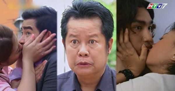 """""""Bố là tất cả"""": Bị nghi cặp kè với Hoàng Sơn, Ngọc Lan đành """"hôn bừa"""" Thanh Bình để minh oan"""