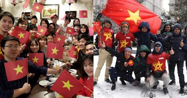 """Từ khắp năm châu, cổ động viên Việt Nam đã sẵn sàng """"cháy"""" hết mình cho trận chung kết lịch sử"""