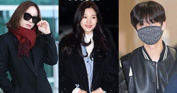 """""""Nữ thần sắc đẹp thế hệ mới"""" Jung Chae Yeon rạng rỡ sang Việt Nam, Krystal sang chảnh bên Park Bo Gum"""