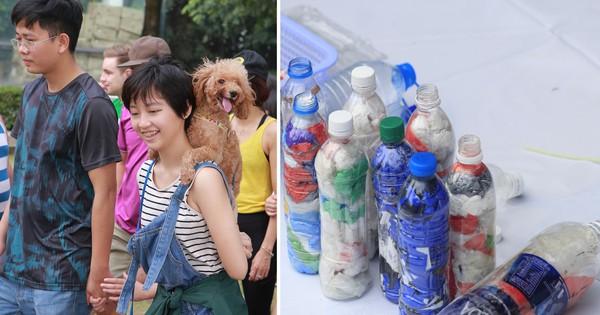 Làm gạch từ túi ni lông, không sử dụng chai nhựa 1 lần... học sinh ngày nay biết nghĩ cho môi trường đến mức người lớn cũng phải ghen tỵ