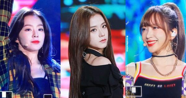 Hani, Jisoo, Irene biểu diễn trong cùng 1 sự kiện, fan đau đầu không chọn được ai là người đẹp nhất