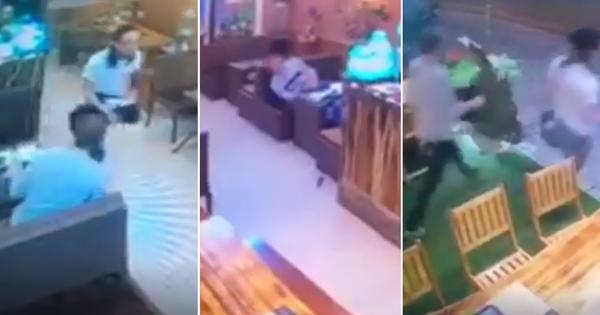 """Góc ăn quỵt: Hai thanh niên ngoại quốc vào nhà hàng ở Sapa ăn uống no nê rồi """"bỏ bill chạy lấy người"""""""