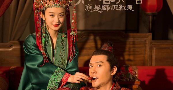 Minh Lan truyện bất ngờ hé lộ ảnh cưới đầu tiên của Triệu Lệ Dĩnh - Phùng Thiệu Phong
