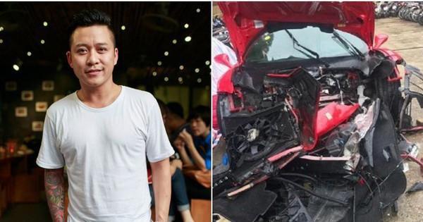 Tuấn Hưng lên tiếng về siêu xe Ferrari 16 tỷ gặp nạn: Khỏe mạnh rồi sẽ làm lại được hết