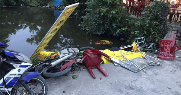 Hải Phòng: Ô tô điên đâm vào đám tang khiến 8 người bị thương rồi bỏ trốn