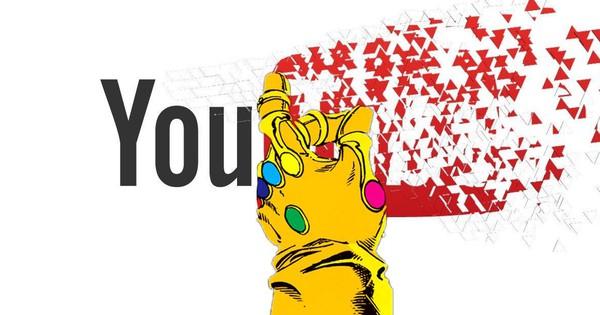 Youtube sập trên toàn cầu, anh khoai tím Thanos bị fan Marvel sỉ tập thể