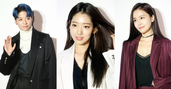 Park Shin Hye lên đời nhan sắc sau khi hẹn hò, diễn viên kém nổi bỗng chiếm spotlight vì diện áo xuyên thấu