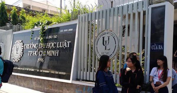Kết quả học tập, rèn luyện yếu kém, 90 sinh viên Đại học Luật TP HCM đứng trước nguy cơ bị đuổi học