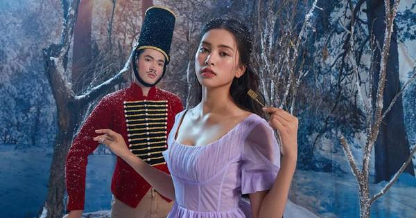 Hoa hậu Tiểu Vy đẹp mơ màng trong tạo hình công chúa Disney ở ''Kẹp Hạt Dẻ Và Bốn Vương Quốc''