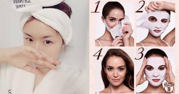 """Không thích các loại mặt nạ giấy """"ướt nhẹp"""", các nàng có thể đổi gu sang dùng mặt nạ khô cực tiện này"""
