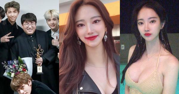 """Bỏng mắt trước bạn gái kém 21 tuổi của """"cha đẻ BTS"""": Ngực siêu khủng, sexy khó tin, lại còn sống xa hoa"""