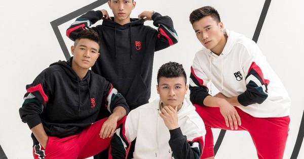Chiêm ngưỡng ngay BST thời trang riêng, đẹp chẳng kém gì sao quốc tế của các cầu thủ Việt Nam