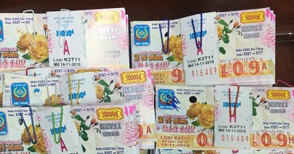 Hi hữu chuyện cán bộ 59 tuổi mua 80 tờ vé số và trúng thưởng gần 20 tỷ đồng ở Sóc Trăng