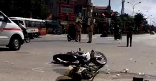 Hà Tĩnh: Tài xế điều khiển xe đầu kéo chạy khỏi hiện trường sau vụ tai nạn