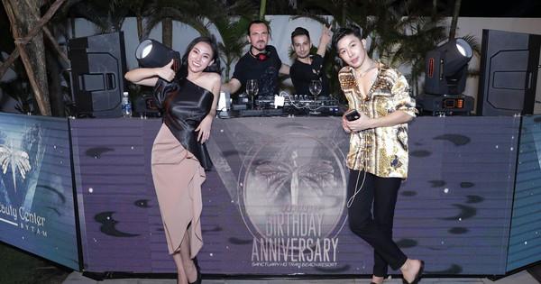 Bất ngờ phát hiện DJ Ahmet Kilic sang Việt Nam tham dự private party của cô gái xinh đẹp, tài năng