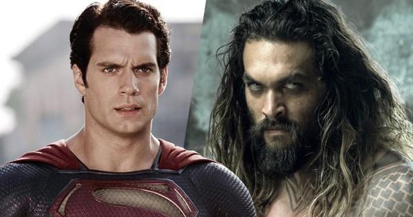 """""""Đế vương Atlantis"""" Jason Momoa bảo đảm tương lai của """"Siêu Nhân"""" Henry Cavill tại vũ trụ DC"""