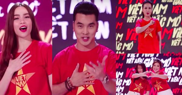 Hơn 50 nghệ sĩ Vpop cùng hoà giọng cổ vũ đội tuyển Việt Nam trước thềm Chung kết AFF Cup 2018