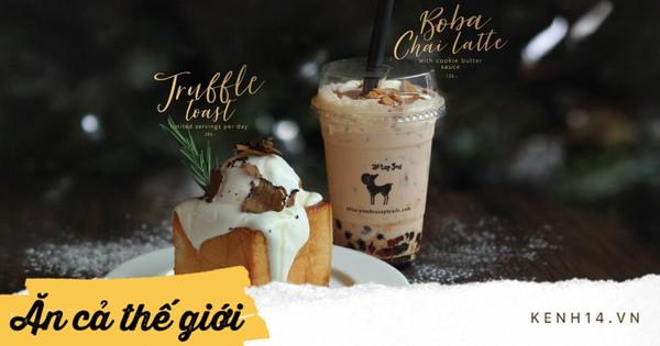 After You nổi tiếng Bangkok cho hẳn nấm truffle làm topping bánh toast giá không đắt nhưng không hề dễ mua